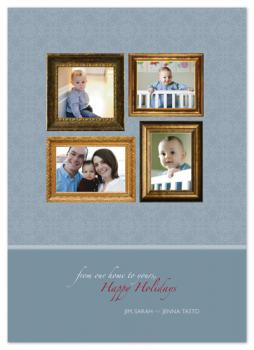 Wall of Photos Holiday Photo Cards