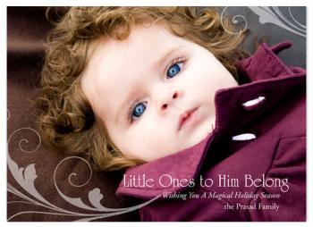 Little Ones  Holiday Photo Cards