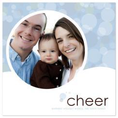 circles of cheer Holiday Photo Cards