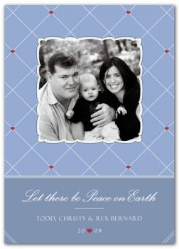 Pinboard Holiday Photo Cards