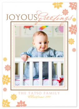 Joyous Holiday Photo Cards