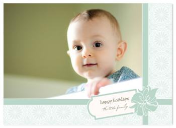 Gift Wrap Holiday Photo Cards