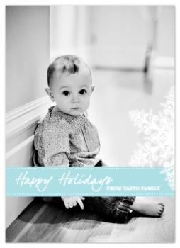 Little Flecks Of Heaven Holiday Photo Cards