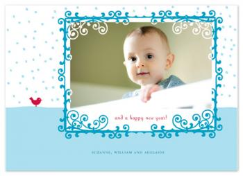 A Holiday Tweet Holiday Photo Cards