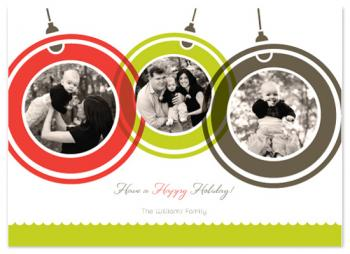 A Happy Holiday Holiday Photo Cards