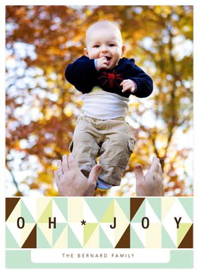 holiday photo cards - Retro Holiday by Baumbirdy