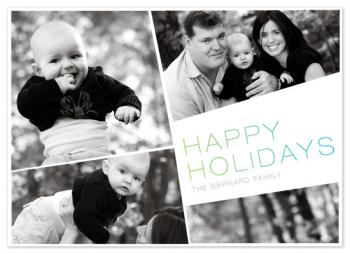 Holiday Angle Holiday Photo Cards