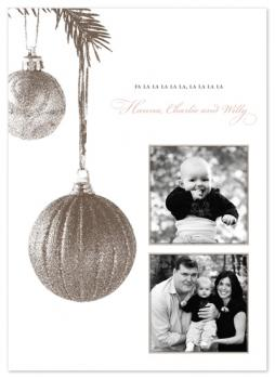 antique ornaments Holiday Photo Cards