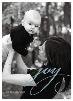 classic holiday type Holiday Photo Cards