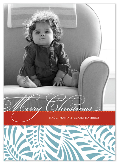 holiday photo cards - Feliz Navidad by Paper Plains