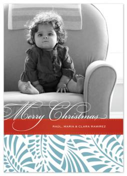 Feliz Navidad Holiday Photo Cards