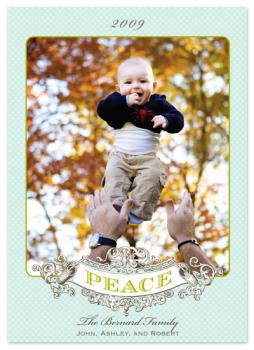 peaceful Holiday Photo Cards