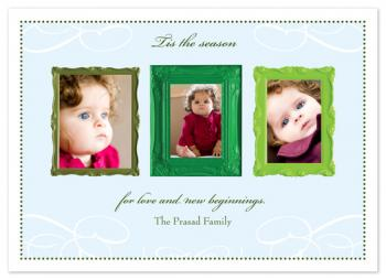 New Beginnings Photo Card Holiday Photo Cards