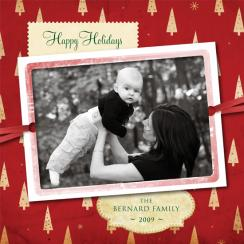 Vintage Holidays Photo Card Holiday Photo Cards