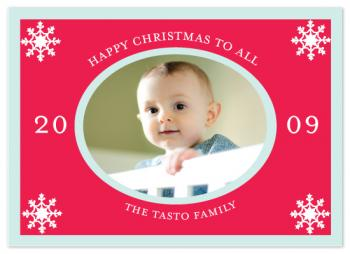 Happy Christmas Holiday Photo Cards