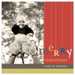 A Very Merry Christmas Holiday Photo Cards