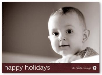 Honeycomb Holiday Photo Cards