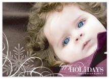 Snowflake  Whimsy by Ten26 Design Custom Invitations