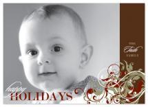 Holiday Swirls by Ten26 Design Custom Invitations