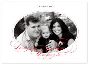 Tenderness, Courage, & Hope Holiday Photo Cards