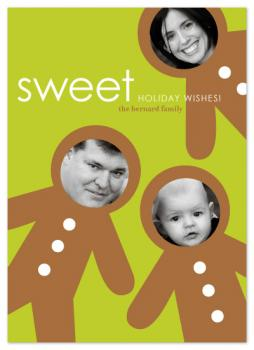 sweet holiday wishes Holiday Photo Cards