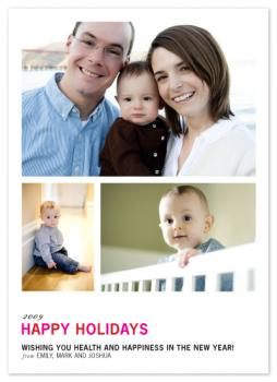 Freshly Mod Holiday Photo Cards