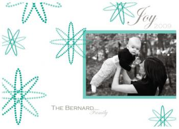 Flakes of joy Holiday Photo Cards