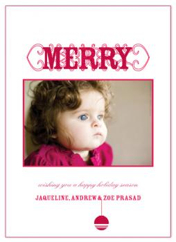 Merry Merry Holiday Photo Cards