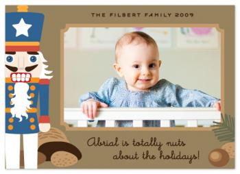 Totally Nuts Holiday Photo Cards
