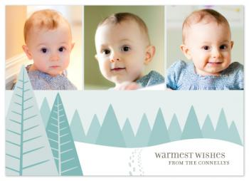 Walk Through Winter Holiday Photo Cards