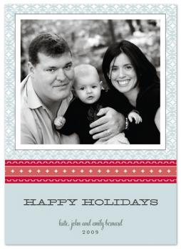 starry holiday Holiday Photo Cards