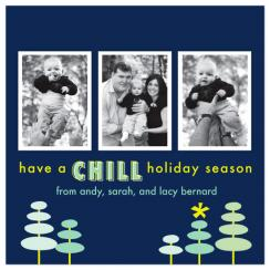 Chill Holiday Holiday Photo Cards