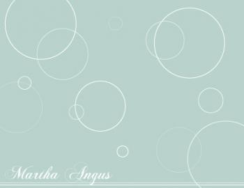 Spheres Personal Stationery
