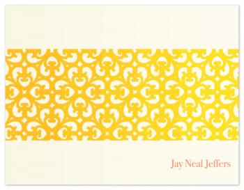 Eastern heat Personal Stationery