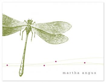 Dragonfly Personal Stationery