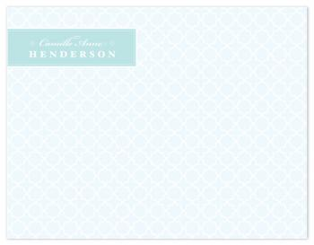 Classy Lassie Personal Stationery