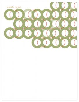 linked together Personal Stationery