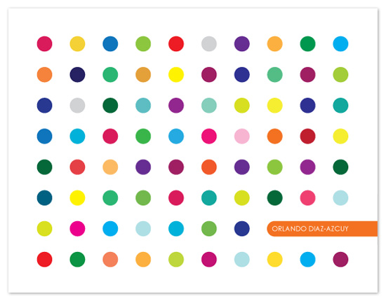 Candy Buttons Personal Stationery