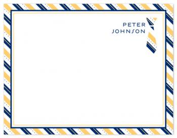 Power Tie Personal Stationery