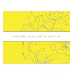Martha Angus Personal Correspondence 3 Personal Stationery