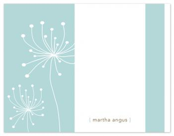 Soft Dandelions Personal Stationery