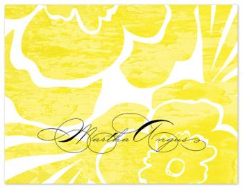power flowers Personal Stationery