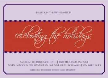 Purple Festivities