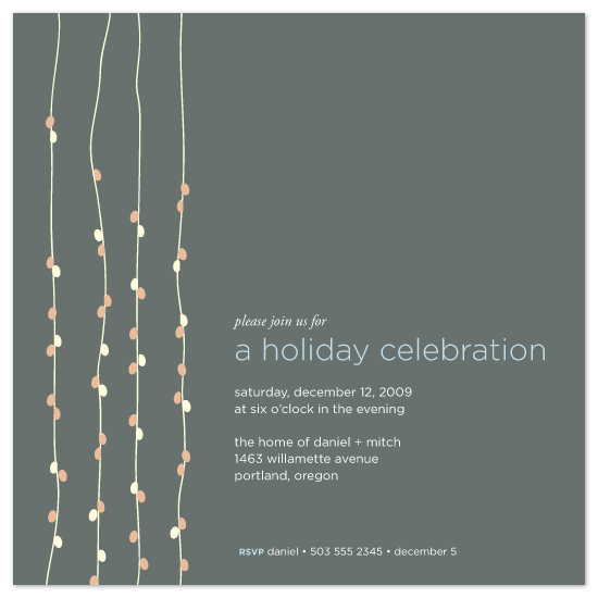 Light Bright Party Invitations