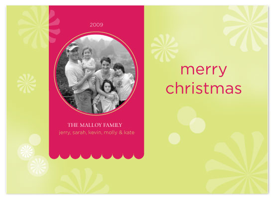 holiday photo cards - Sweet Peppermint by Sandy Pons