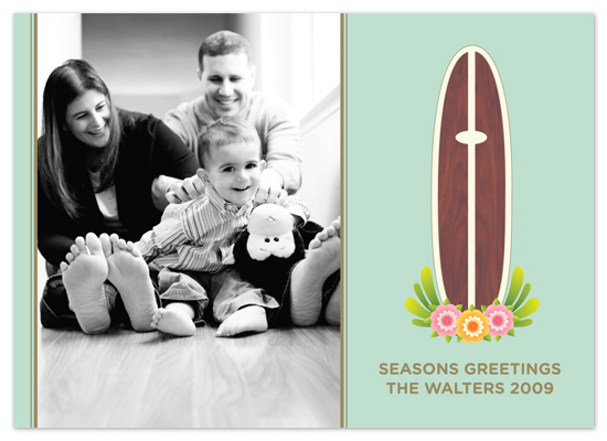holiday photo cards - santa cruz basics by Waui Design