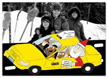 Christmas Cab