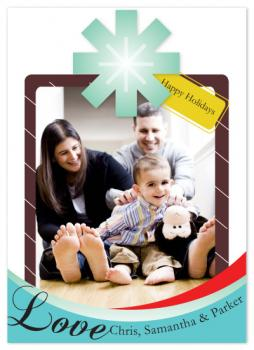 A Joyful Present Holiday Photo Cards
