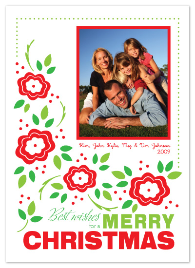Bright Holidays Ahead Holiday Photo Cards