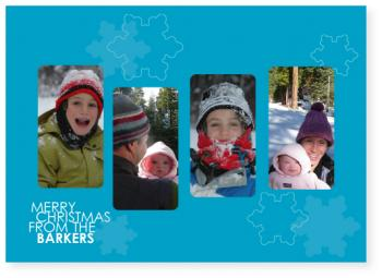 cubed Holiday Photo Cards